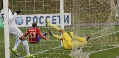 Молодежная команда ЦСКА сыграла вничью с «Манчестер Сити»