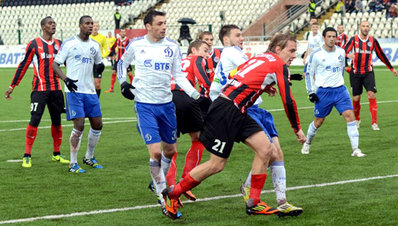 «Амкар» обыграл «Динамо»