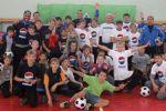 Футболисты «Крыльев» приняли участие в благотворительной акции