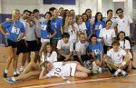 «Волга» сыграла в футбол с участницами конкурса красоты