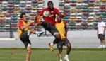 «Спартак» провел игровую тренировку