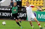 «Амкар» ушел от поражения в матче против «Краснодара»