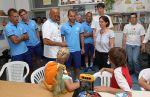 Спаллетти, Кришито и Ломбертс побывали в детской клинике