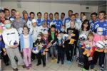 Динамовцы посетили онкологический центр