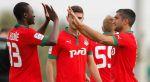«Локомотив» завершил сбор победой