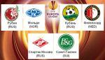 «Спартак», «Кубань» и «Рубин» проводят матчи Лиги Европы