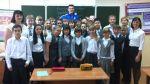 Денис Вавилин провел классный час в самарской школе
