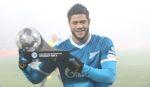 Халк получил премию «Лучший футболист сентября»