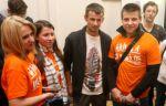 Семак и Малафеев выступили на фестивале «День Открытой библиотеки»