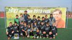 Молодые футболисты отдали дань памяти своего наставника