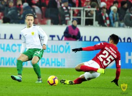 Olimp Cup of Russia. Spartak 1:0 Anji
