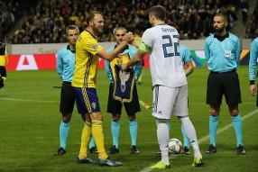 Швеция 2:0 Россия
