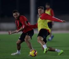 Первая тренировка «Локомотива» после отпуска