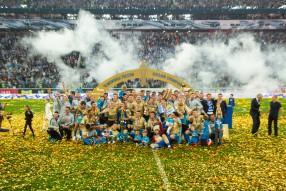 Церемония вручения  «Зениту» Кубка чемпионов Росси ...