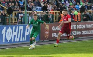 Томь 1:0 Уфа