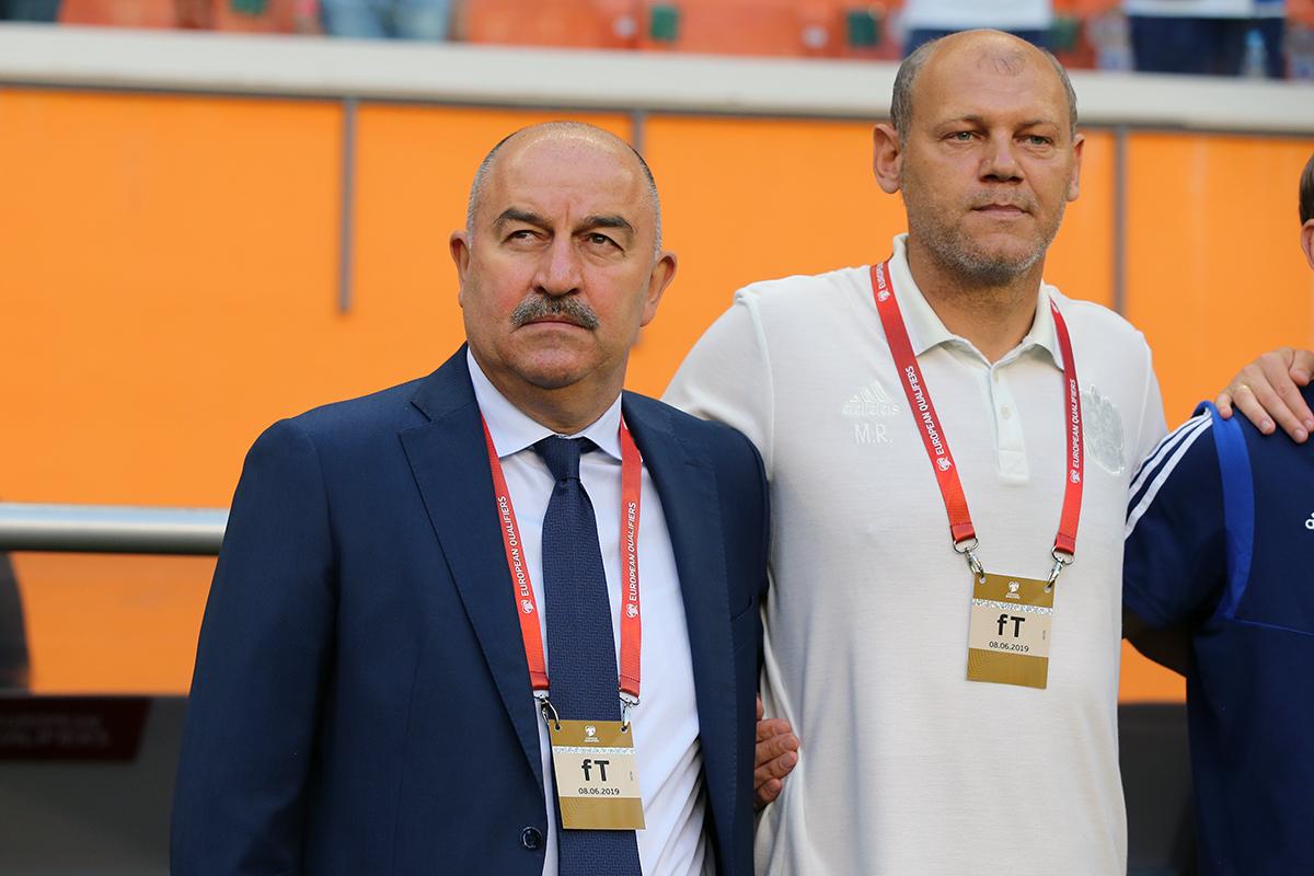 Мирослав Ромащенко, Станислав Черчесов