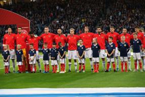 Шотландия 1:2 Россия