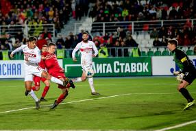 Уфа 1:0 Спартак