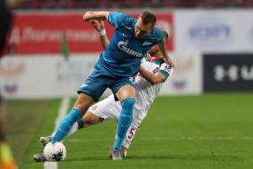 Локомотив 1:0 Зенит