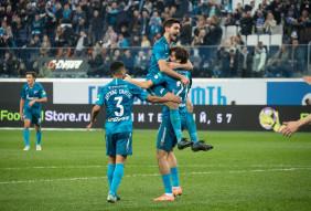 Зенит 1:1 ПФК ЦСКА