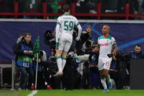 Лига чемпионов. Локомотив 1:2 Ювентус