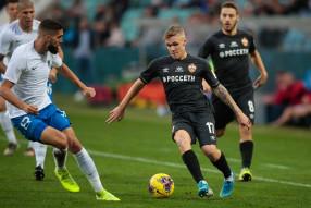 Сочи 2:3 ПФК ЦСКА
