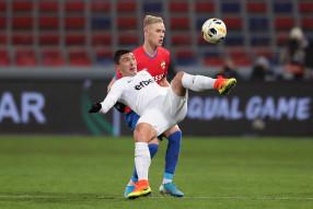 Лига Европы. ЦСКА 1:1 Лудогорец
