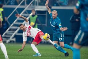Zenit 1:0 Spartak