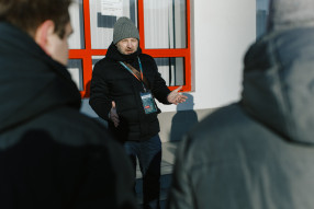 Семинар для студентов РАНХиГС на матче «Локомотив» ...