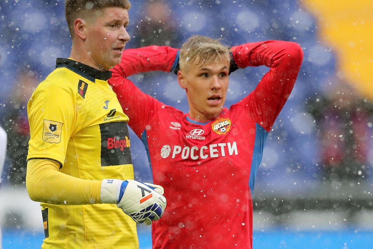 ЦСКА - Уфа 0:0