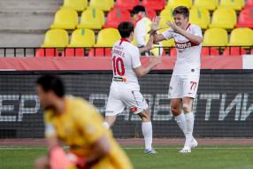 Arsenal Tula 2-3 Spartak Moscow