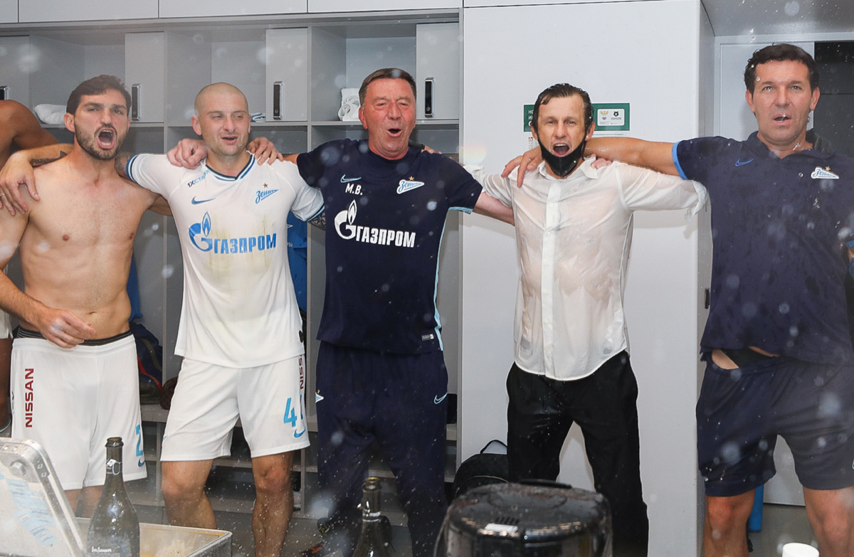 Ярослав Ракицкий, Михаил Бирюков, Сергей Семак