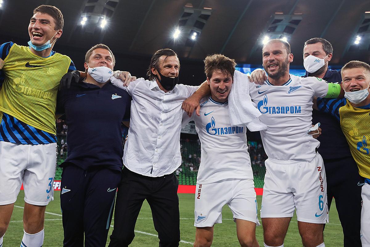 Сергей Семак, Бранислав Иванович, Олег Шатов, Далер Кузяев, Леон Мусаев