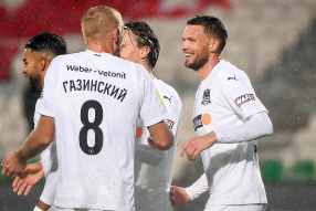 Уфа 0:3 Краснодар