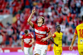Спартак 2:1 Арсенал