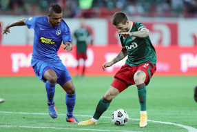 Локомотив 1:0 Тамбов