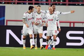 Локомотив 1:1 Атлетико