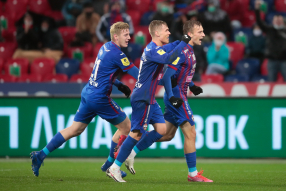 ЦСКА 2:0 Ростов