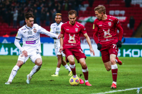 Рубин 1:0 ЦСКА