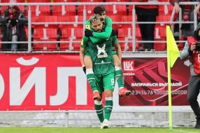 Спартак 0:2 Рубин