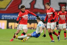 Dynamo Moscow 1-2 Spartak