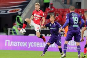 Спартак 0:3 Уфа