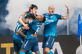 Зенит 6:1 Локомотив