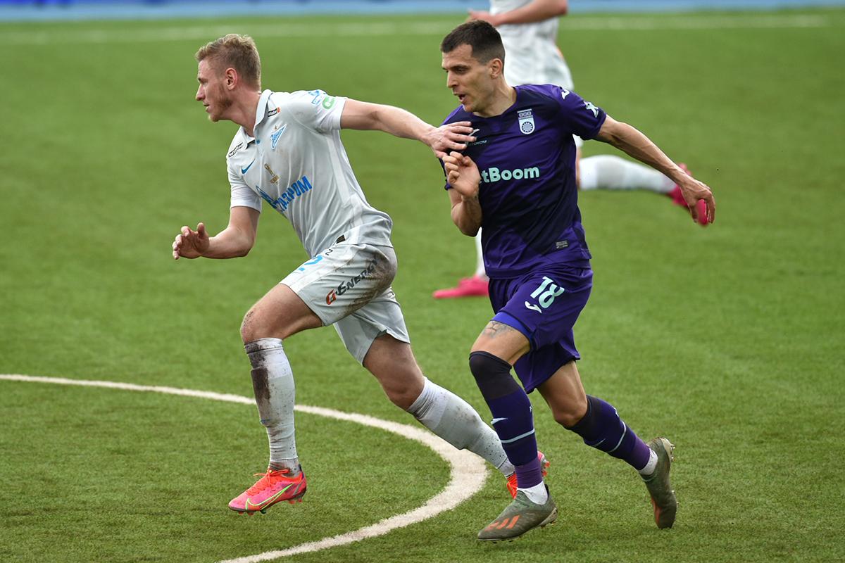 Дмитрий Чистяков, Комнен Андрич