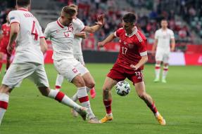 Poland 1-1 Russia