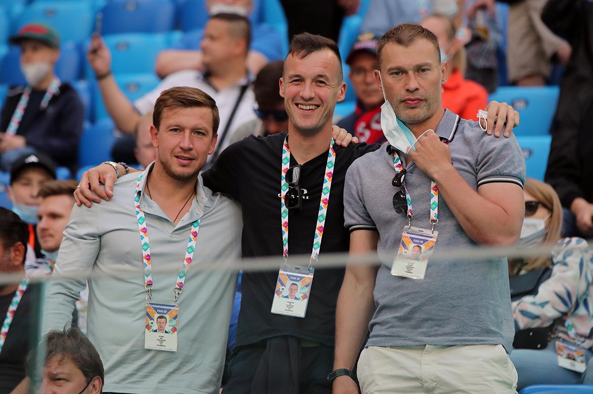 Олег Кузьмин, Василий Березуцкий, Олег Яровинский