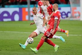 Russia 1-4 Denmark