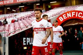 Бенфика 2:0 Спартак