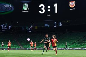 Краснодар 3:2 Арсенал