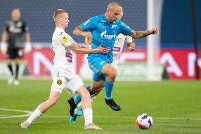 Зенит 1:0 ЦСКА